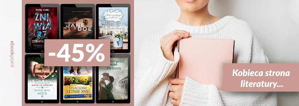 Promocja na ebooki Kobieca strona literatury... / -45%