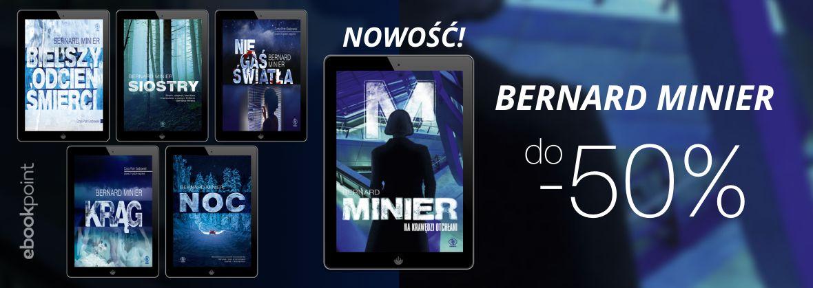 Promocja na ebooki Bernard Minier [do -50%]