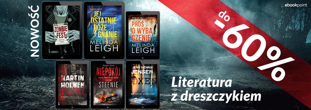 Promocja na ebooki Kryminały i sensacje [wyd. Editio]