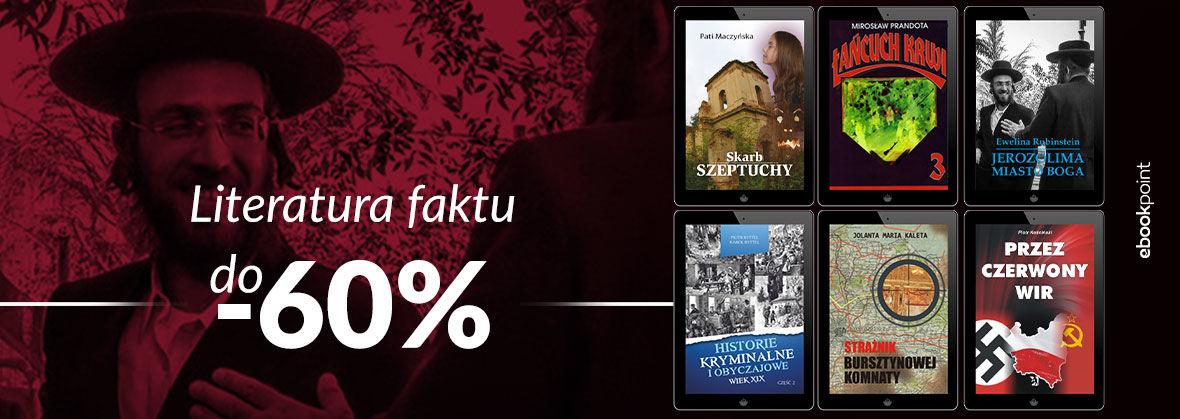 Promocja na ebooki Literatura faktu [wyd. Psychoskok]