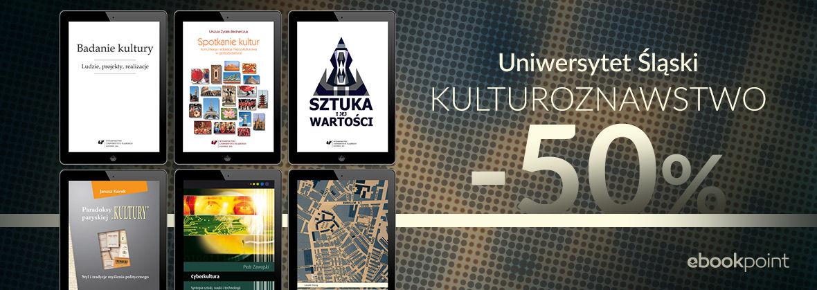 Promocja na ebooki Kulturoznawstwo / -50%