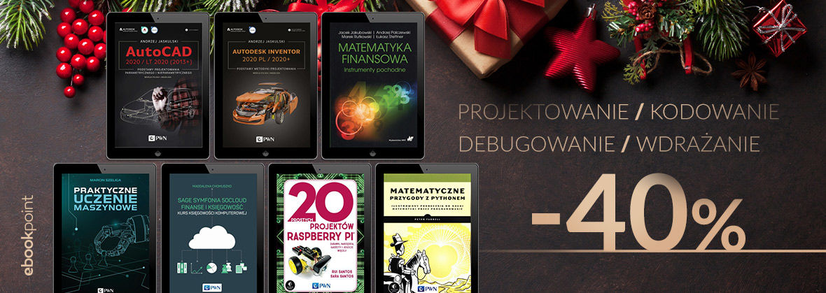 Promocja na ebooki PROJEKTOWANIE | KODOWANIE | DEBUGOWANIE | WDRAŻANIE