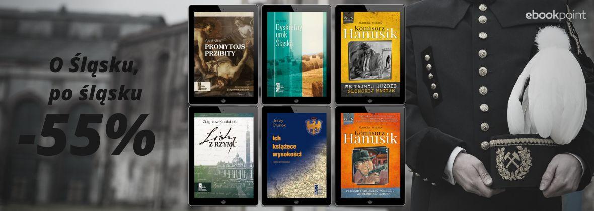 Promocja na ebooki O Śląsku i po śląsku / Barbórkowa promocja -55%