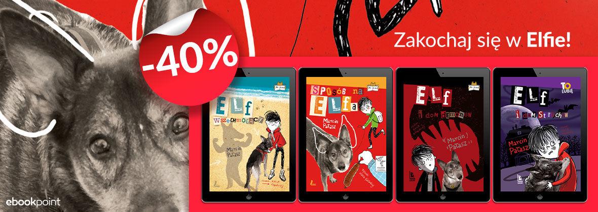 Promocja na ebooki Seria z ELFEM [-40%]