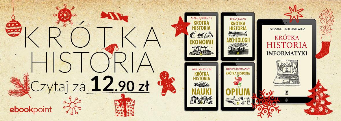 Promocja na ebooki Krótka Historia! / Czytaj za 12,90zł!