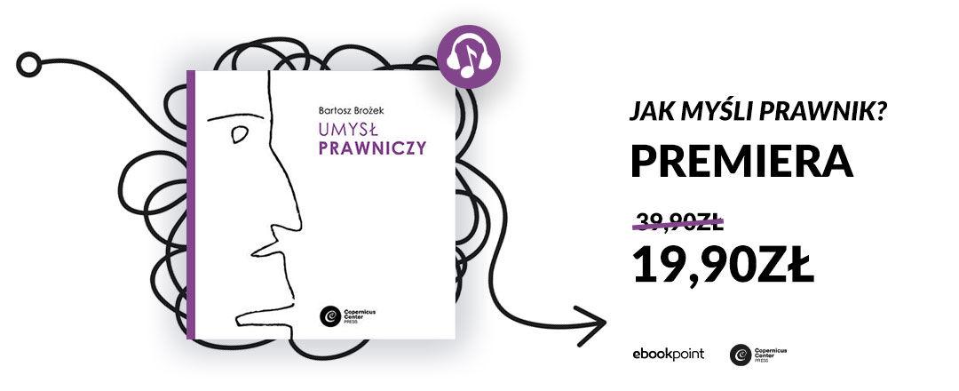Promocja na ebooki Jak myśli prawnik? / 19,90zł!
