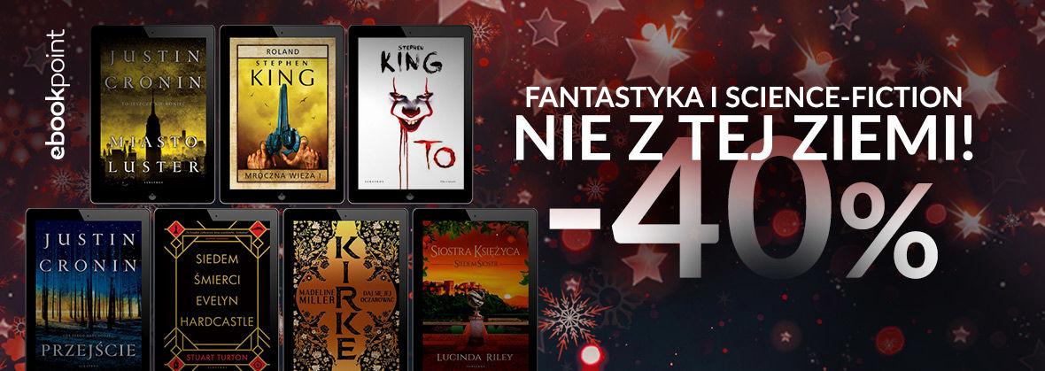 Promocja Promocja na ebooki Fantastyka i science-fiction nie z tej Ziemi! [-40%]
