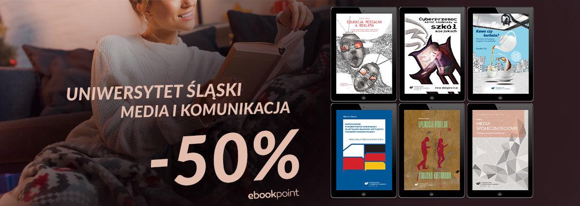 Promocja Promocja na ebooki MEDIA I KOMUNIKACJA / -50%