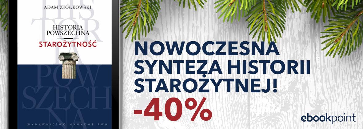 Promocja Promocja na ebooki Nowoczesna synteza historii starożytnej / -40%