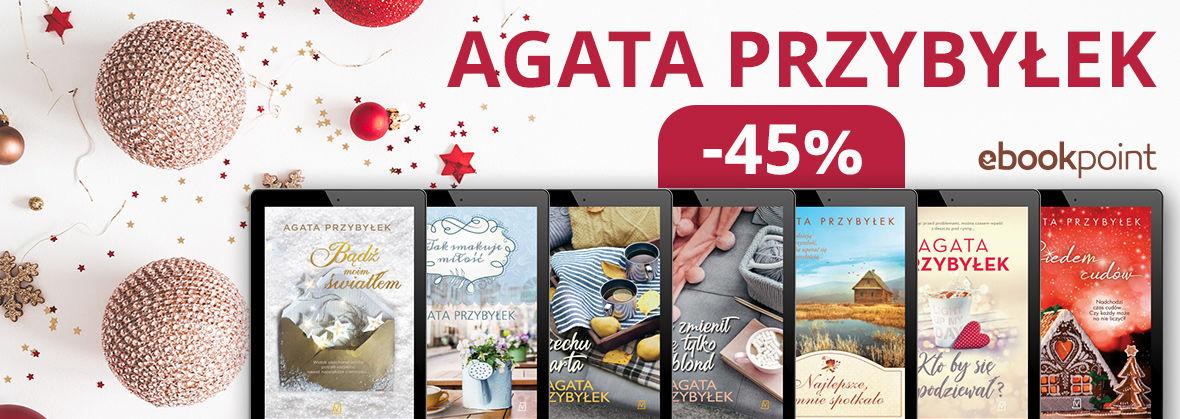 Promocja na ebooki Agata Przybyłek / -45%