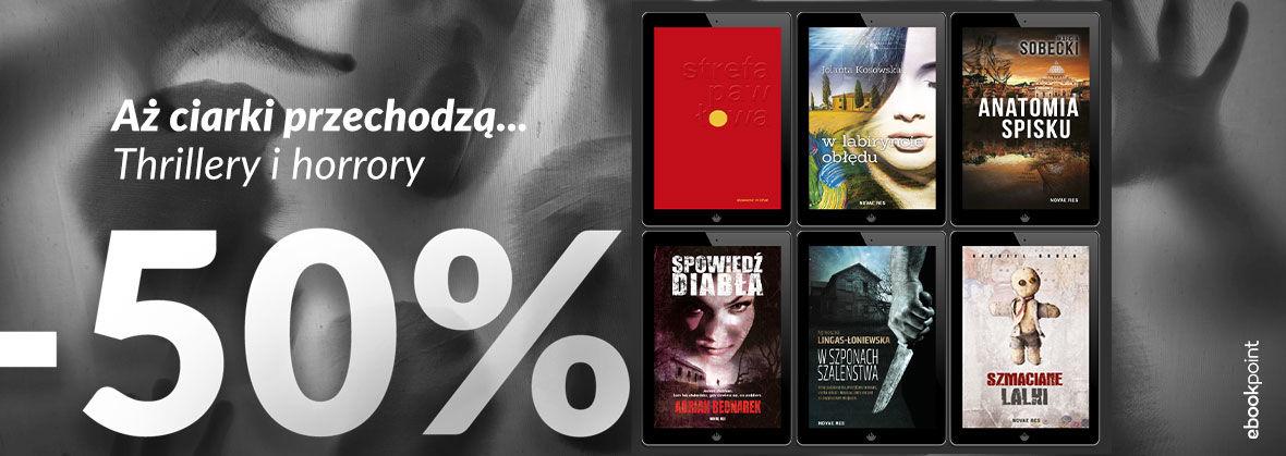 Promocja na ebooki Aż ciarki przechodzą... / -50%