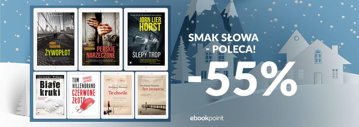 Promocja na ebooki Smak Słowa - poleca! [-55%]
