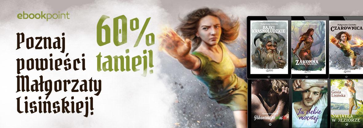 Promocja na ebooki Małgorzata Lisińska / -60%