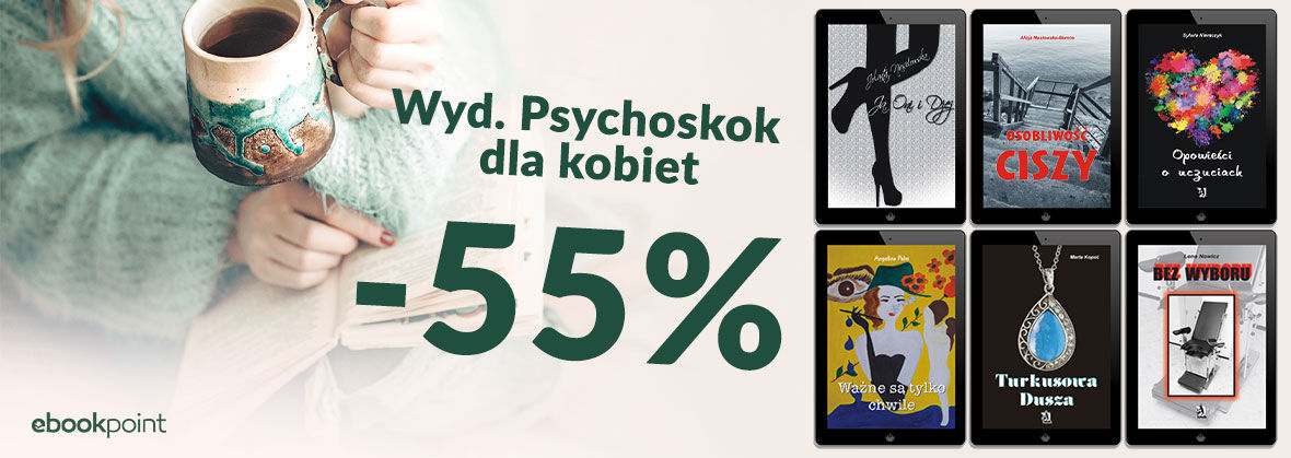 Promocja na ebooki Psychoskok dla KOBIET [-55%]