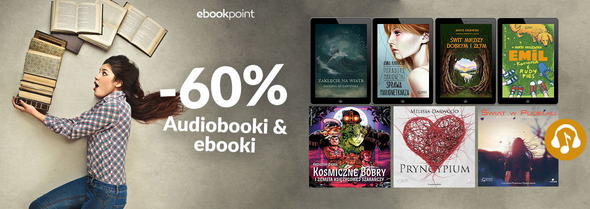 Promocja na ebooki Młodzież czyta, młodzież słucha / -60%
