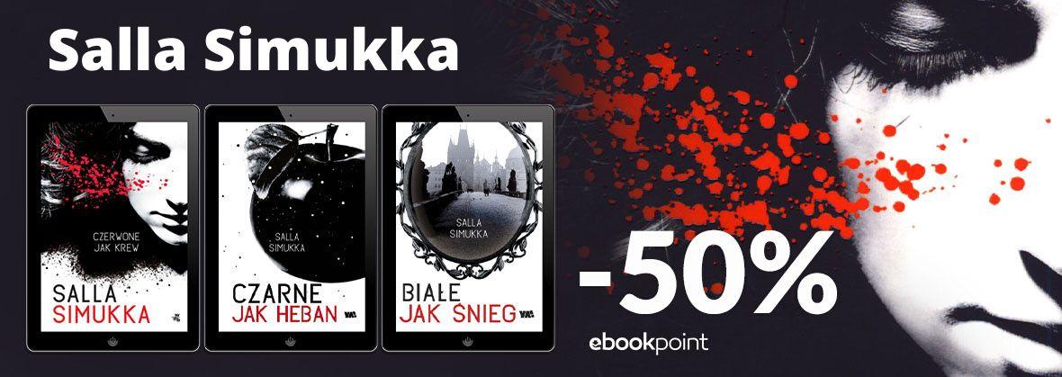 Promocja na ebooki Salla Simukka [-50%]