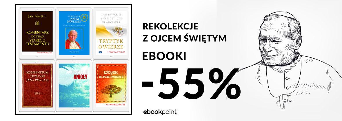 Promocja na ebooki Jan Paweł II / -55%