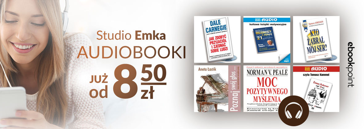 Promocja na ebooki Audiobooki Wydawnictwa Studio Emka