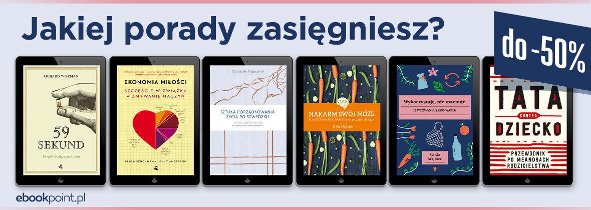 Promocja na ebooki Jakiej porady zasięgniesz?