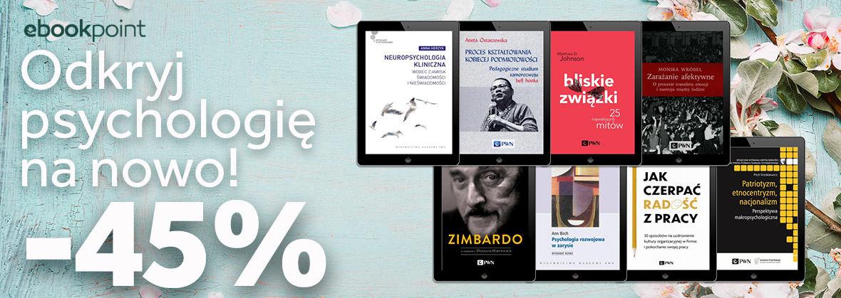 Promocja na ebooki Odkryj psychologię na nowo!