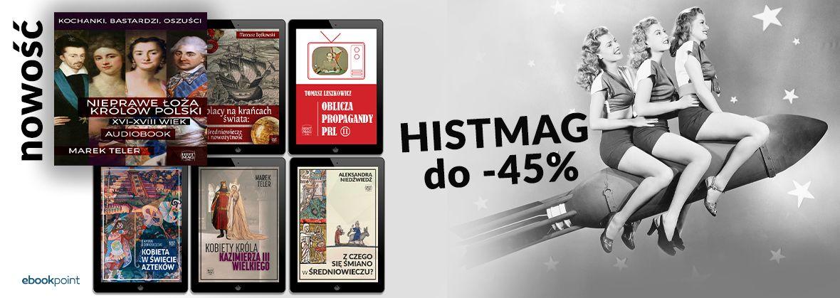 Promocja na ebooki HISTMAG [do -45%]