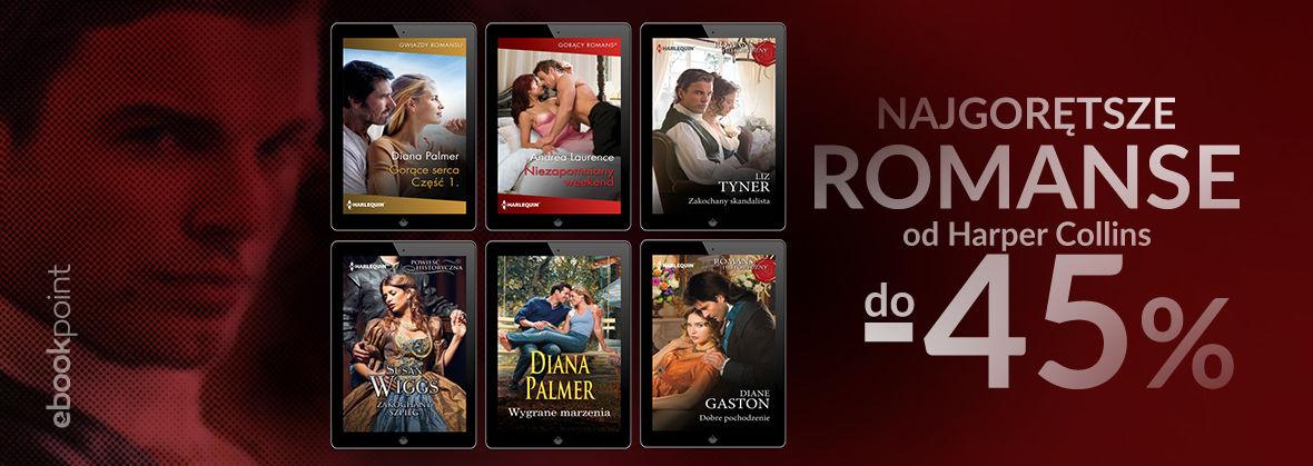 Promocja na ebooki Najgorętsze romanse od Harper Collins / do -45%