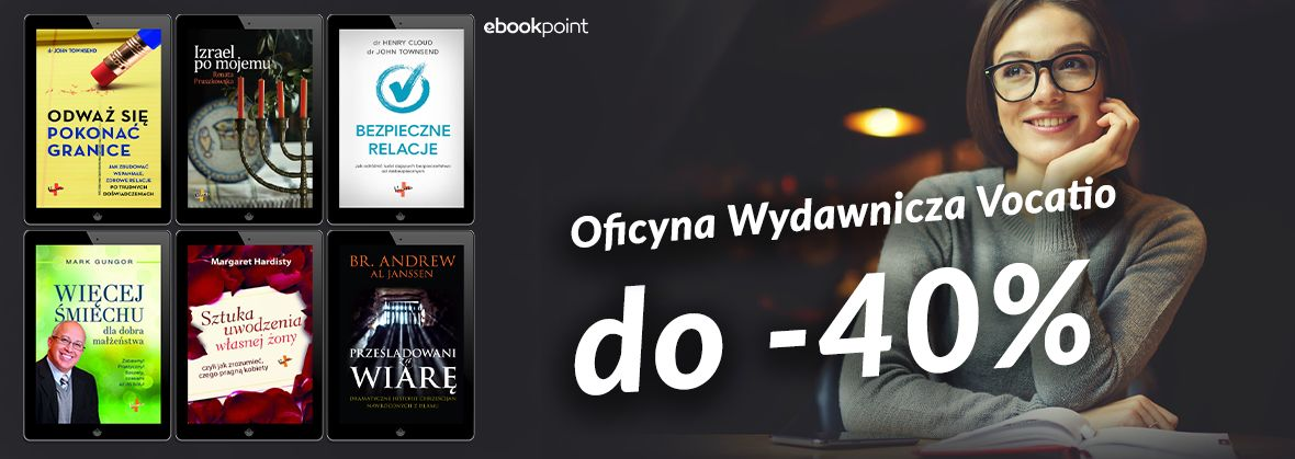 Promocja na ebooki VOCATIO [do -40%]