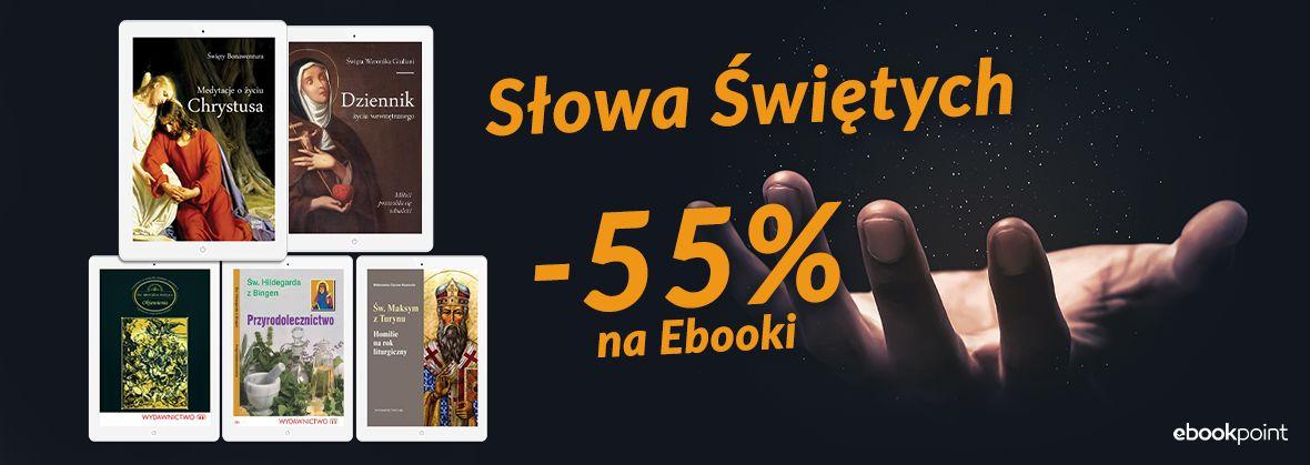 Promocja na ebooki Słowa Świętych / -55%