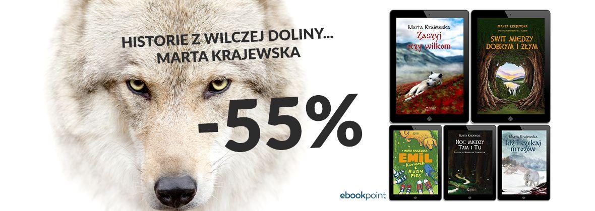 Promocja na ebooki MARTA KRAJEWSKA / -55%