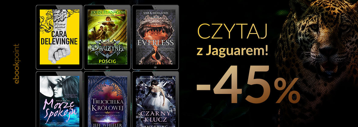 Promocja na ebooki Czytaj z Jaguarem / -45%