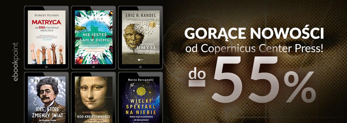 Promocja na ebooki Gorące nowości od Copernicus Center Press! / do -55%