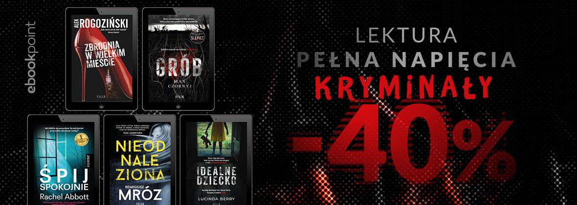 Promocja na ebooki Lektura pełna napięcia / Kryminały -40%