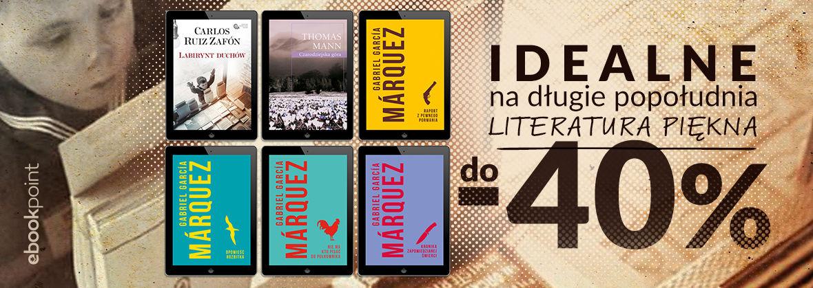 Promocja na ebooki Idealne na długie popołudnia / Literatura piękna Wydawnictwa MUZA