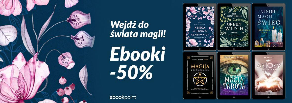 Promocja na ebooki Odkryj świat magii!