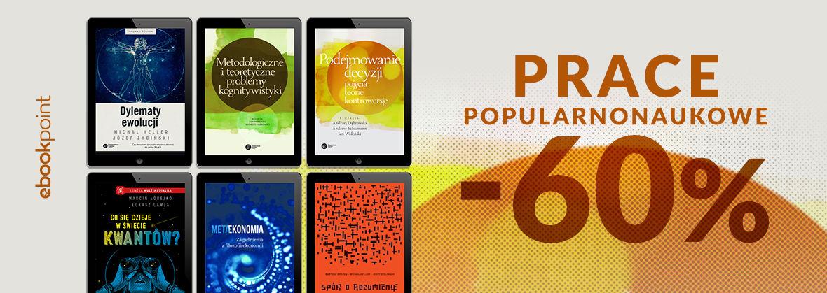 Promocja na ebooki Prace popularnonaukowe / -60%