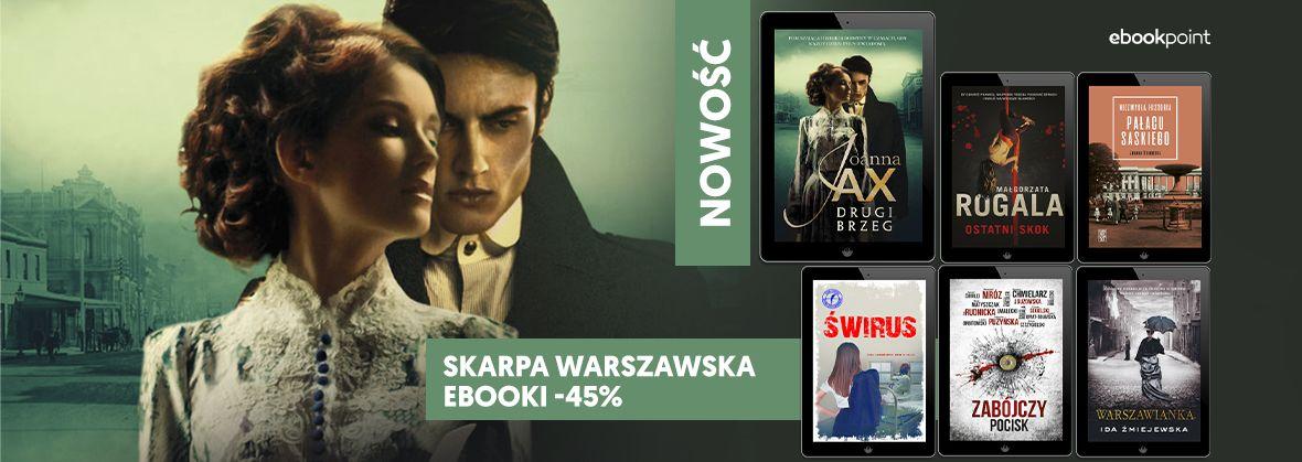 Promocja na ebooki SKARPA Warszawska [-45%]