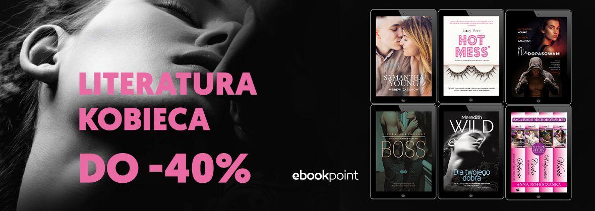 Promocja na ebooki Dla kobiet [do -40%]