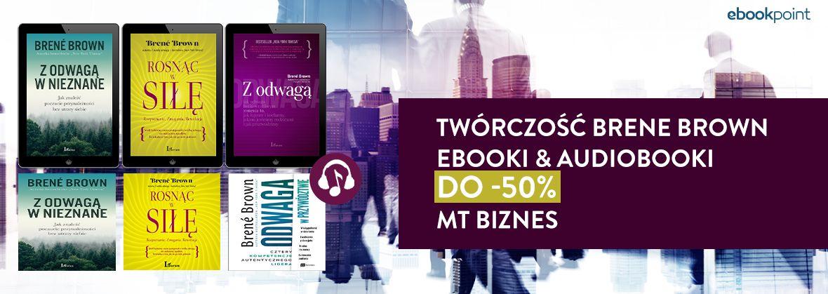 Promocja na ebooki BRENE BROWN / do -50%