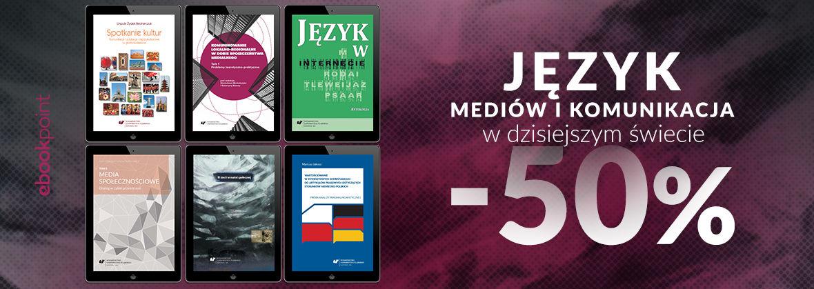 Promocja na ebooki Język mediów i komunikacja w dzisiejszym świecie. / -50%