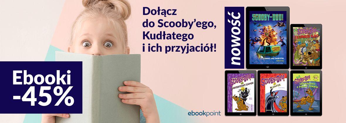 Promocja na ebooki Scooby-Doo [ebooki -45%]