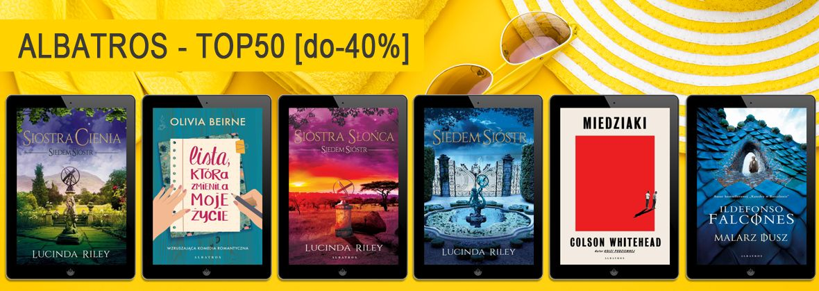 Promocja na ebooki Albatros - TOP50 [do-40%]