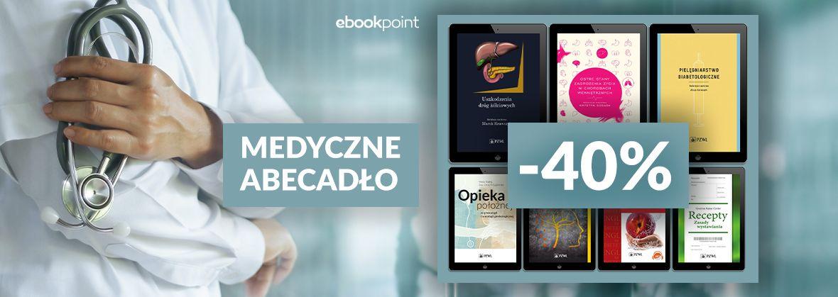 Promocja na ebooki MEDYCZNE ABECADŁO [-40%]