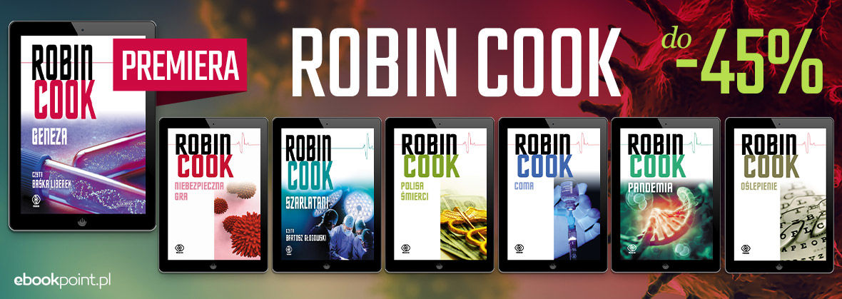 Promocja na ebooki ROBIN COOK / do -45%