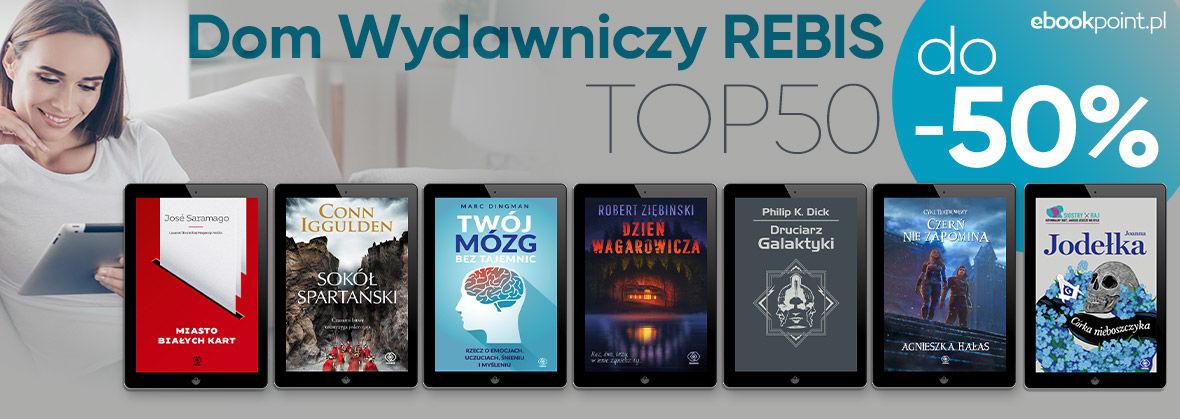 Promocja na ebooki Dom Wydawniczy Rebis [TOP50!]