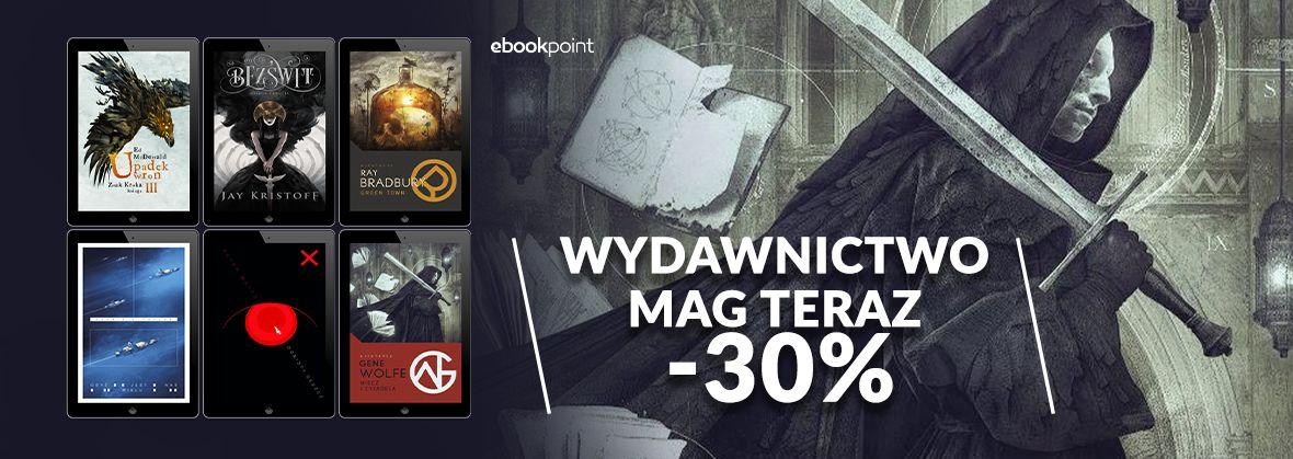 Promocja na ebooki Wydawnictwo MAG [-30%]