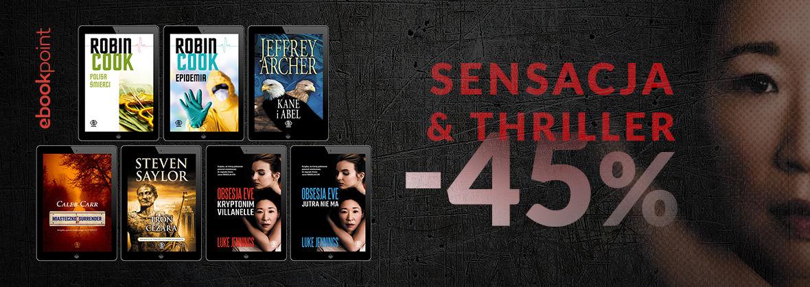 Promocja na ebooki Sensacja i Thriller / -45%
