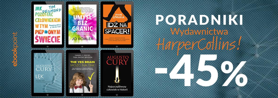 Promocja na ebooki Poradniki Wydawnictwa HarperCollins / -45%