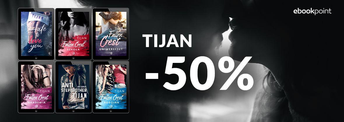 Promocja na ebooki TIJAN / -50%