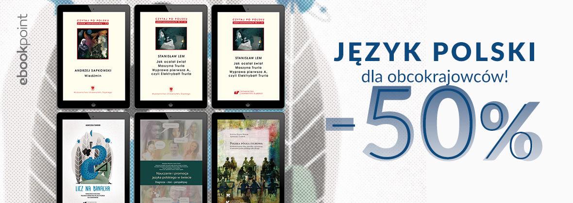 Promocja na ebooki Język polski dla obcokrajowców! / -50%