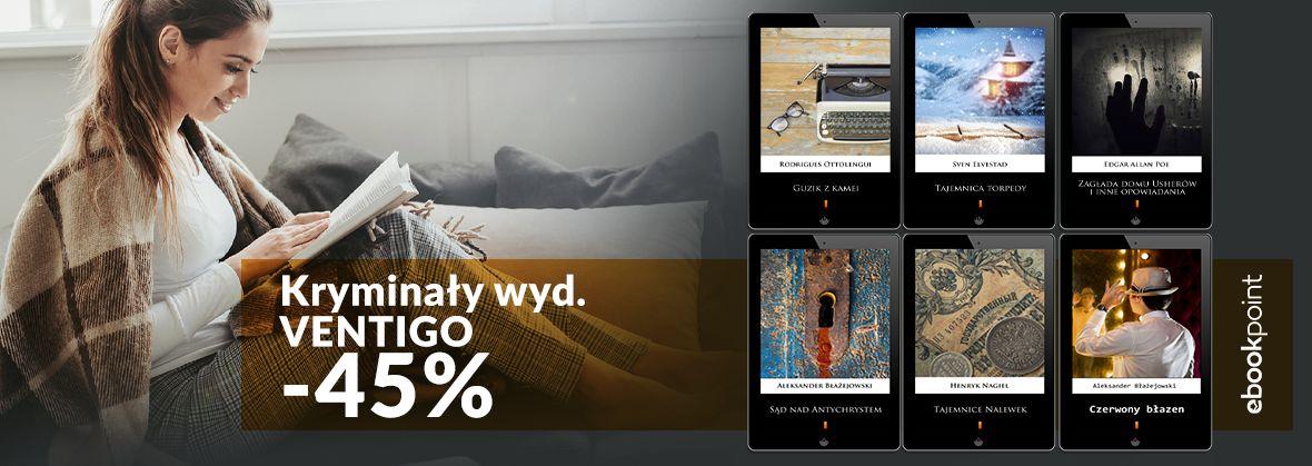 Promocja na ebooki VENTIGO [kryminały -45%]
